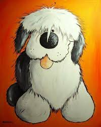 old english sheepdog drawing yahoo image search results tattoo
