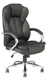 Computer Chair High Back Pu Leather Executive Office Desk Task Computer Chair W