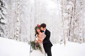 winter mountain wedding inspiration boho romance and modern