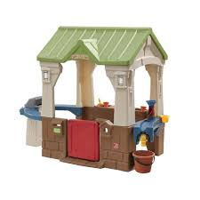 backyard discovery summer cottage all cedar playhouse 6613com