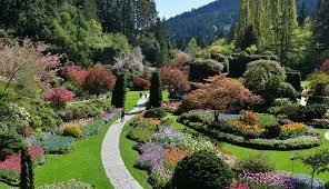 seattle to victoria overnight with the butchart gardens