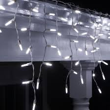 cool white icicle lights led christmas lights 70 led icicle lights cool white m5 bulbs