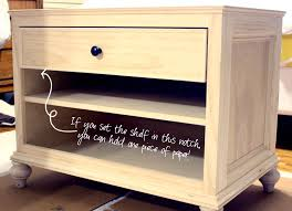 how to build a table with drawers printer table 1st shelf jpg