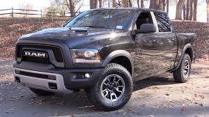 nissan titan jacked up 2016 ram 1500 rebel 5 7l 4x4 start up road test and in depth