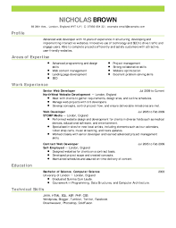 Best Resume Format Human Resources by Sample Cv Training Contract