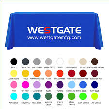 6ft Imprinted Table Cover Custom Table Covers U2013 La Los Angeles Custom Promotional Products