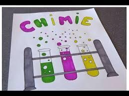 Page de garde Chimie tubes à essai  YouTube