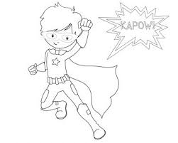 coloring pages superhero color pages super hero coloring page to