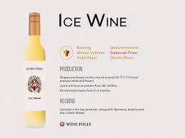ice wine wine folly
