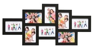 cadre photo multi multivue d troit 10 x 15 cm noir leroy merlin