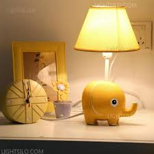 elephant table lamp bedroom desk children study light bedside