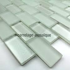 carrelage en verre pour cuisine kera brick mosaique verre carrelage mosaique