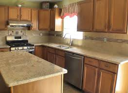 Black Corian Countertop Gray Kitchen Cabinets With Black Countertops Ellajanegoeppinger Com