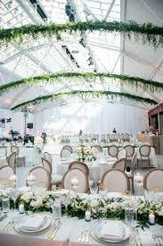 wedding flowers montreal modern indoor garden wedding in montreal elegantwedding ca