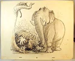 ken anderson concept art jungle book disney u0026 pixar