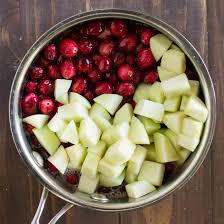 cranberry sauce with apples culinary hill