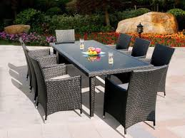 Wicker Patio Dining Table Stunning Lowes Wicker Patio Furniture House Decorating Suggestion