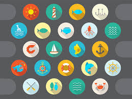 35 free flat graphics and web elements for designers freebies