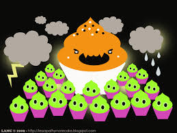awesome halloween backgrounds cute cupcake backgrounds wallpapersafari