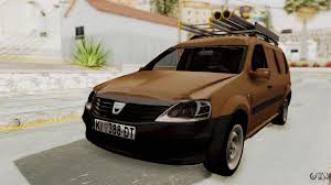 renault logan van dacia logan mcv van for gta san andreas