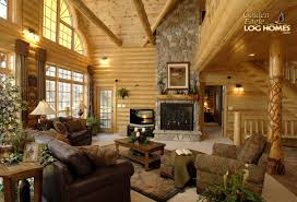 log home interior pictures how to design a cozy log cabin log homes org