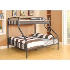 twin over queen bunk beds hayneedle