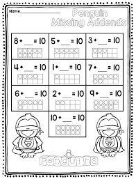 winter math for first grade 1 75 kindergarten first grade