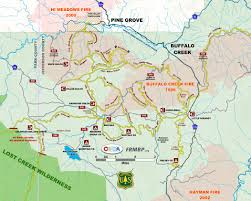 Map Of Colorado Springs Area by Buffalo Creek Colorado Mountain Bike Association