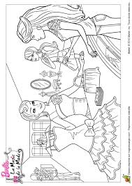 coloriage barbie et la magie de la mode shopping sur hugolescargot com