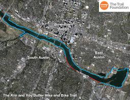 Austin Map by The Trail Foundation About The Butler Trail The Trail Foundation