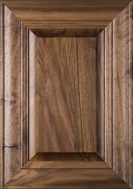 Walnut Cabinet Doors Belmont Walnut Raised Panel Cabinet Door In Clear Finish