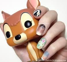 bambi nail art i heart nail art