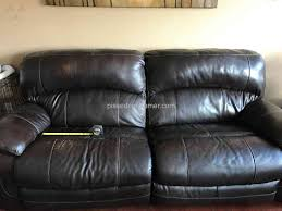 Leather Sofa Discoloration I Purchased The 5 Yrs Protection Plan From Guardsman For My