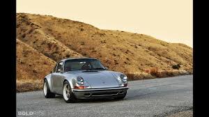 silver porsche convertible singer porsche 911 silver