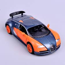 toy bugatti mini diecast 1 32 scale orange bugatti veyron model cars