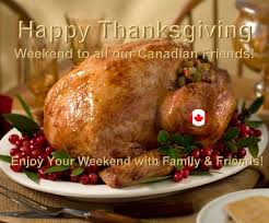 happy thanksgiving canadian friends family chuck donna arthurs