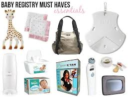 Top 10 Must Baby Items by Top 10 Baby Registry Items Link