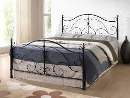 Black Metal Bed Frame Black Metal King Size Bed Frame Style Different Ideas Black