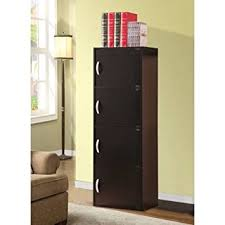 hodedah 4 door cabinet amazon com hodedah 4 door cabinet store almost anything inside of