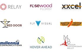 brand logo design hub spoke logo design and branding