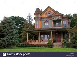 victorian house at independence missouri stock photo royalty free