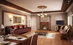 classic livingroom american living room and dining interior design traditional