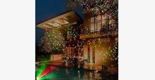 laser light projection led solar powered lights