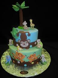 jungle theme baby shower cake animal cake baby archives page 2 of 2 baby cake imagesbaby
