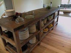 reclaimed wood console u0026 stool set kitchen things pinterest