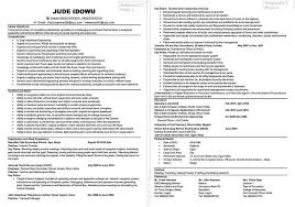 Resume In One Page Sample Example Of How To Write A Resume Resume Example And Free Resume