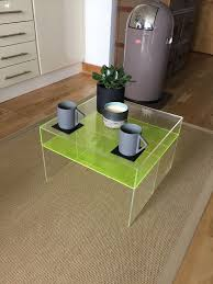 Zara Home Side Table Fab Perspex Neon Side Table Coffee Table H 32cm W 48cm D 48cm