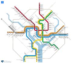 Houston Metro Rail Map by Washington Dc Area Homes Prices By Transit Stop U2013 Estately Blog