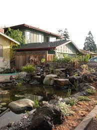 Waterfall For Backyard by Palo Alto Front Yard Pond With Waterfall And Boulders Pond Magic
