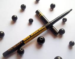 black review maybelline colossal black kajal review swatches